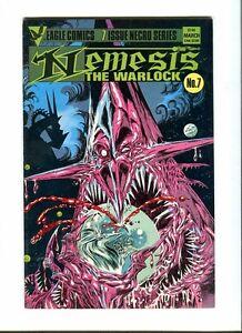 Nemesis 7 . Eagle Comics 1985 - Kevin O'neill - FN  +