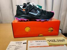 OFF-WHITE x NIKE Zoom Terra Kiger 5 BLACK CD8179-001 UK7 / US Womens 9.5