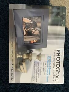 """PhotoShare 8"""" Smart Photo Frame with HD 1080P LED Touchscreen and 8GB Internal"""