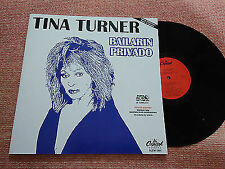 "Tina Turner-Bailarin Privado (Private Dancer) Rare 12"" Promo Mexican LP Capitol"