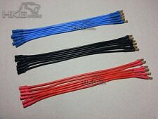 3.5mm Gold Bullet Connector Brushless Motor ESC Extension Cable 200(L) 14AWG x18