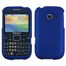 MYBAT Titanium Solid Dark Blue Phone case for SAMSUNG R480 (Freeform 5)