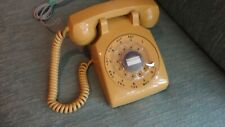 CLASSIC MODEL 500 HARVEST GOLD ROTARY DIAL TELEPHONE, BUTTERFIELD-8, MAD MEN