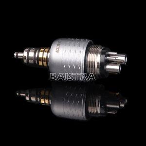 Dental 1:1 Quick Coupling Coupler Roto Fiber Optic Handpiece 6 Holes AZDENT UK