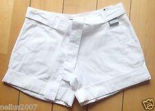 BNWT Ladies New York & Company Cotton White Shorts Size 2 EUR 34
