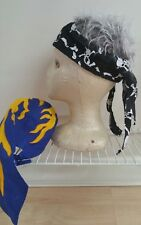 Beanie scarf hat cap men 2 stiles and colors men's head cover