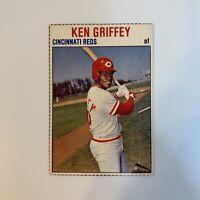 1979 Hostess Ken Griffey Sr # 45 Cincinnati Reds MLB Baseball Card Hand Cut