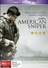 American Sniper (DVD, 2015) - R4 - Good Condition