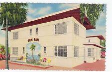 SUN TAN APTS. ST.PETERSBURG: Florida postcard (C1334).