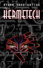 Storm Constantine SIGNED Hermetech (paperback)