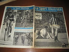 LO SPORT ILLUSTRATO GAZZETTA 1951/38 KOBLET COPPI NAPOLI JUVE BONIPERTI ASCARI