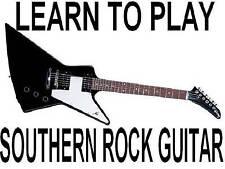Learn Southern Rock Guitar Lessons DVD Beginners Course Lynyrd Skynyrd Chops!