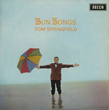 TOM SPRINGFIELD Sun Songs 1968 UK vinyl LP,EXCELLENT CONDITION DUSTY