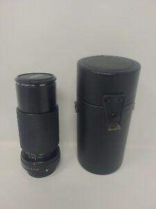 VIVITAR MACRO F4.5  70~210 mm. MC ZOOM LENS for Pentax PKA with Case.