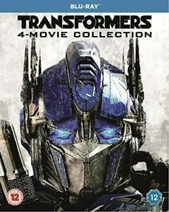 Transformers: 4-Movie Collection [Blu-ray] [DVD][Region 2]