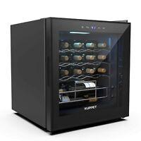 19 Bottles Wine Refrigerator Thermoelectric Cooler Chiller Freestanding Cellar