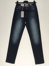 Ladies Bench Darcia V4 Tapered Jeans UK Size 8 W26 L30 Faded Blue