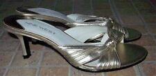 Mules Party Kitten 100% Leather Upper Heels for Women
