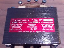 Tierney Electrical Mfg. AC500C-17V2A Industrial Control Transformer 1J-1756-D11