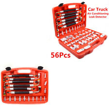 56 Pcs Air Conditioning Leak Detector Detection Tools Set for Car Truck Auto