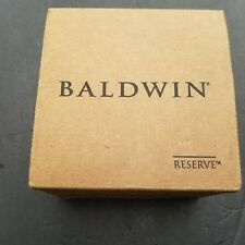 Baldwin Reserve Door Lever Handle HDFEDLTSR112  Bronze Half Dummy Federal