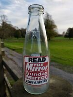 Collectable Vintage Coop Pint Milk Bottle Mirror/Sunday Mirror Bingo c1986