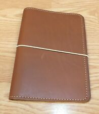 Foxy Fix U.S.A Made Brown Leather Travelers Notebook With Band *READ*