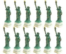 Wholesale lot 12 PCS Statue of Liberty Replica Figurine Souvenir from NYC 4 inch