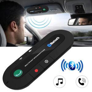 Bluetooth Auto Car Sun Visor Multipoint Speakerphone Speaker Hands-Free Kit