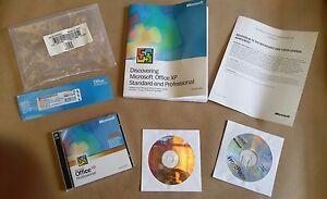 NEW Microsoft OFFICE Windows XP Professional AE 2002 w/ Key code