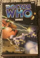 Doctor Who Warmonger Terrance Dicks New 1st Edition Paperback 2002