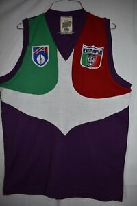 AFL VINTAGE GUERNSEY JUMPER  REPRODUCTION FREMANTLE DOCKERS NEW SIZE 2XL