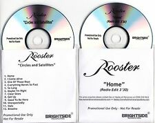 ROOSTER Circles & Satellites promo test CD + bonus disc pre-Temperance Movement