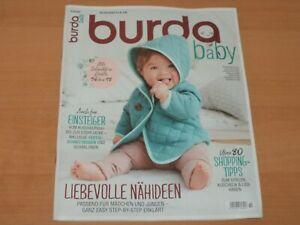 burda baby + Schnittmuster Ausgabe 2/2020