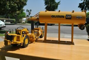 CUSTOM QUINN CATERPILLAR YELLOW MEGA WATER TOWER 1/50th SCALE !!
