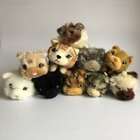 The Cat Collection Artists Collection Small Soft Toys No Collars Bundle X10