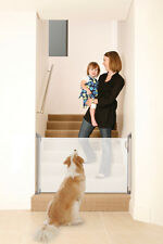 NEW DREAMBABY RETRACTABLE GATE WHITE TODDLER childproof mesh child safety pet