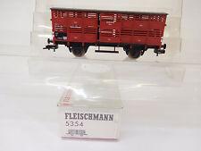 MES-54698Fleischmann 5354 H0 Viehwagen DB 358493 sehr guter Zustand