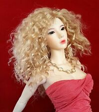 Monique Ellowyne-Rose wig 8/9 for 1/3 BJD SD DZ EID Wiggs Super Dollfie Blonde