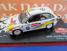 Die cast 1/43 Modellino Auto Opel Astra GSI 16V Rally Monte Carlo 1993 B.Thiry