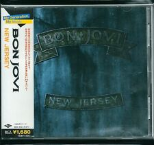 Bon Jovi New Jersey Japan CD w/obi UICY-6423