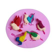 Bird Pattern Fondant Cake Mold Candy Sugar craft Cutter Baking Tool P&B
