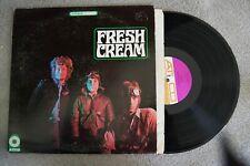 Fresh Cream Psychedelic Rock Stereo Record lp original vinyl album