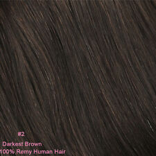 """Premium Long Thick Clip In Hair Extensions One Piece 100% Remy Human Hair 20"""""""