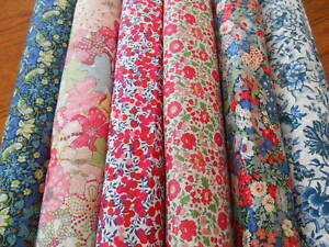 LIBERTY FABRIC  - TANA LAWN - CLASSIC & SEASONAL BUY UNIT 20cm x 136cm NEW STOCK