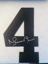 MARIANO RIVERA New York YANKEES SIGNED JERSEY NUMBER