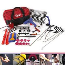 34x PDR Dent Lifter Kit Glue Puller Paintless Dent Repair Tool Bag Hail Removal