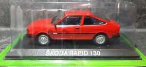 Skoda Rapid 130 - De Agostini 1:43 - Famous Czech cars collection