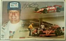 4X INDY 500 WINNER AJ FOYT LAMINATED PLACEMAT- NOW 7 TIME INDY CAR CHAMPION