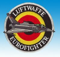 Patch écusson Luftwaffe Eurofighter (silver)